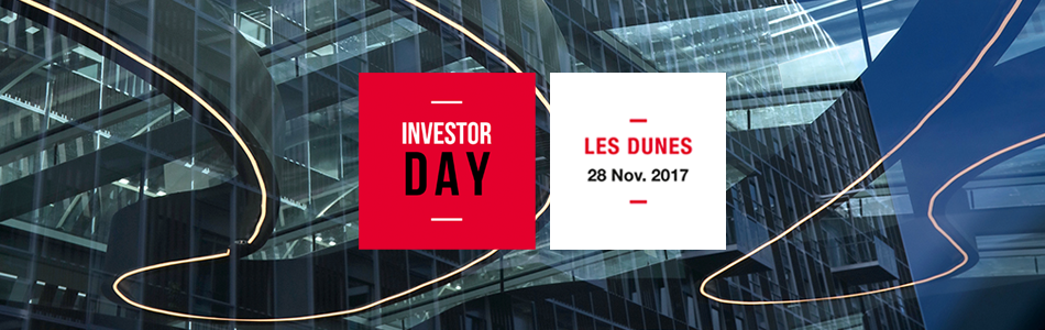 Investor Day - Les Dunes - 28 Nov. 2017