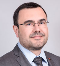François Bloch, Chief Executive Officer of BRD, Societe Generale's subsidiary in Romania