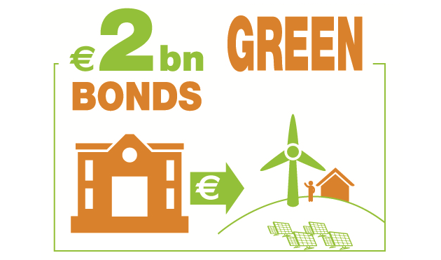 2 bn€ bonds green