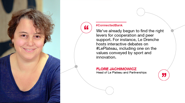 We've already begun to find the right levers for cooperation and peer support. For instance, Le Drenche hosts interactive debates on #LePlateau, including one on the values conveyed by sport... Flore Jachimowicz, Head of Le Plateau and Partnerships